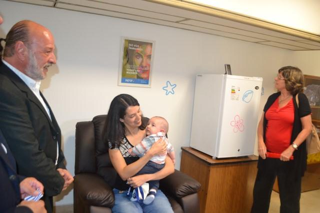 Inauguración de Sala de Apoyo a la Lactancia Materna en Inefop imagen 4