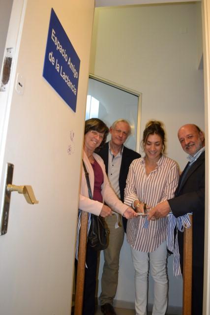 Inauguración de la sala de lactancia del Centro de Estudios