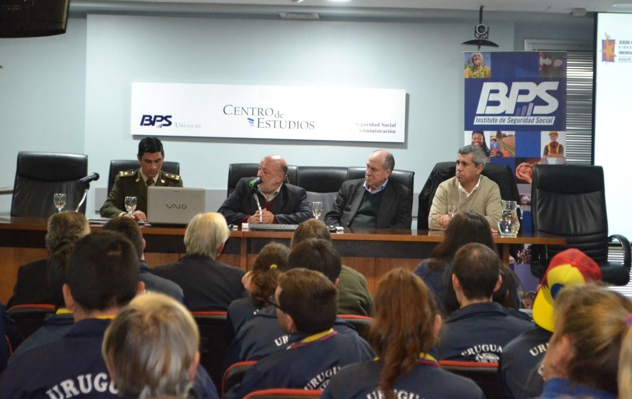 Bienvenida a los deportistas que participaron en las Olimpíadas Especiales Iberoamericanas FIDES